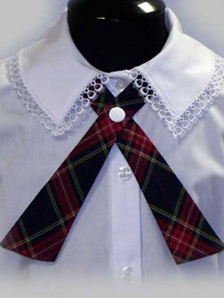 Сшить школьные галстуки для девочек